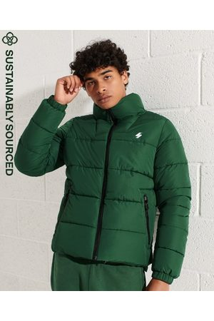 Superdry Men Sports Jackets - Non Hooded Sports Puffer Jacket