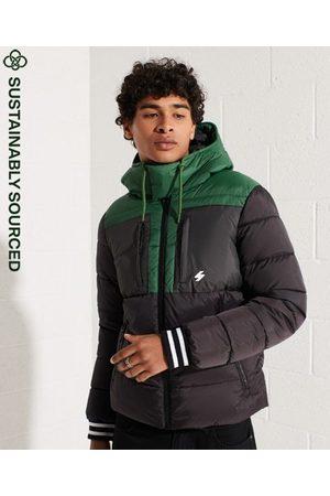 Superdry Men Sports Jackets - Sports Puffer Colour Block Jacket