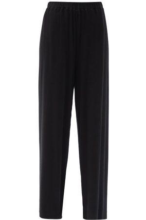 The Row Doi Jersey Wide-leg Trousers - Womens
