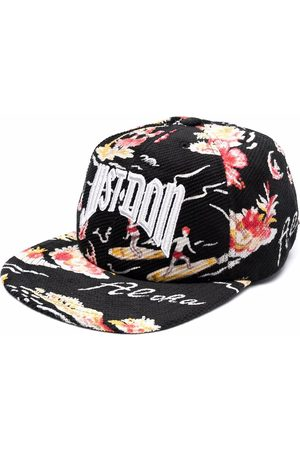 JUST DON Embroidered-logo baseball cap