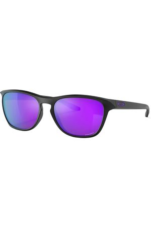 Oakley Manorburn Sunglasses - Matte - Prizm Violet