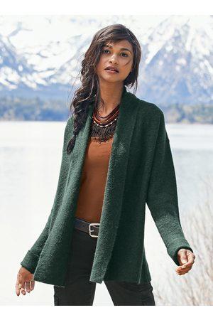 Peruvian Connection Women Cardigans - Links Shawl Collar Alpaca Cardigan