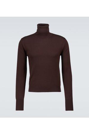 AMIRI Cashmere and silk turtleneck sweater