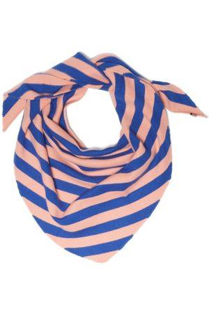 EXTREME CASHMERE Striped Cashmere Bandana Scarf - Womens - Multi