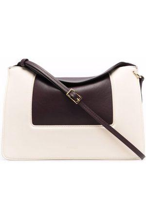 Wandler Women Shopper & Tote Bags - Penelope contrast-panel tote bag