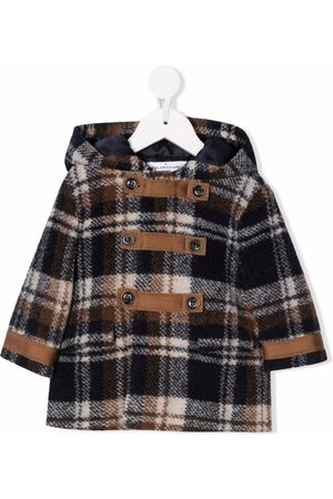 COLORICHIARI Duffle Coats - Check print duffle coat