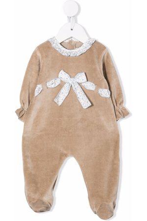LA STUPENDERIA Pyjamas - Bow-detail pajama - Neutrals