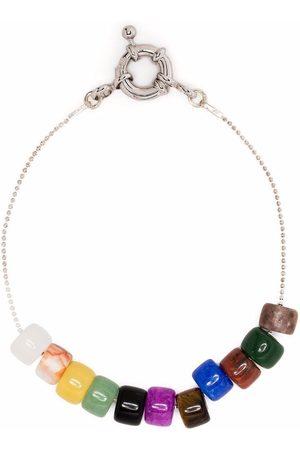 POLITE WORLDWIDE Beaded ball-chain bracelet