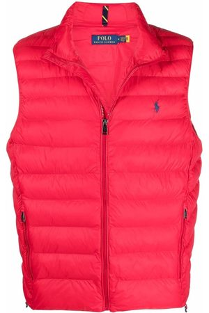 Polo Ralph Lauren Men Body Warmers - Logo embroidered padded gilet