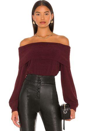 Bobi BLACK Fuzzy Sweater in . Size M, S, XS.