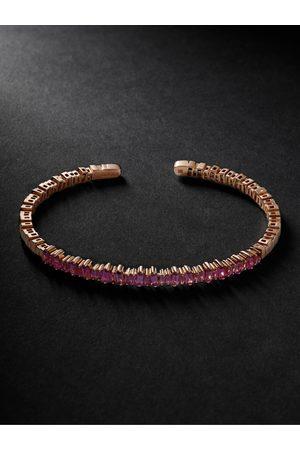 Suzanne Kalan Gold Emerald Cuff