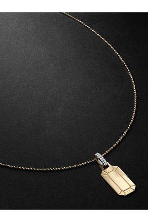 Eera Men Necklaces - Tokyo Gold, Silver and Diamond Necklace