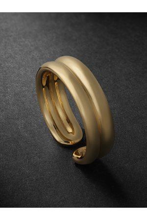 Fernando Jorge Men Rings - Doubled 18-Karat Gold Ring