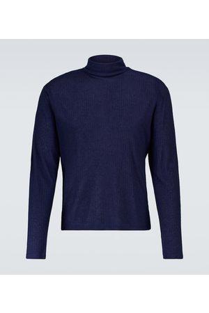 King & Tuckfield Men Turtlenecks - Ribbed-knit wool-blend pullover