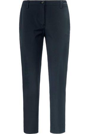 True Women Trousers - Ankle-length trousers in techno-stretch size: 12