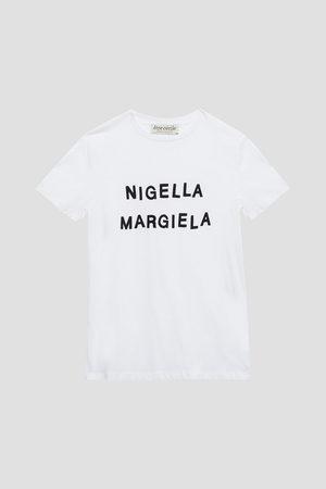 Être Cécile Women T-shirts - Être Cécile Woman Printed Organic Cotton-jersey T-shirt Size L
