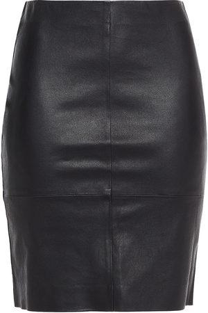 Samsøe Samsøe Women Mini Skirts - Samsøe Φ Samsøe Woman Leather Mini Skirt Size M