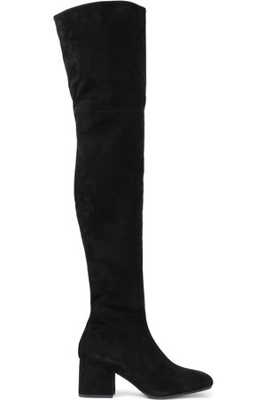 Marni Women High Leg Boots - Woman Suede Over-the-knee Boots Size 37