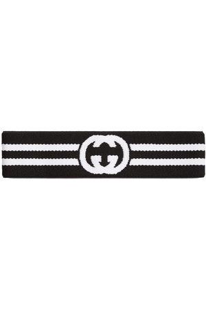 Gucci Women Headbands - Interlocking G stripe headband