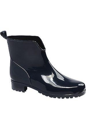 Graceland Women Wellingtons Boots - Ladies Navy Low Cut Wellies