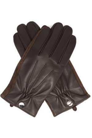 Dents Esher Wool-lined Leather Touchscreen Gloves - Mens