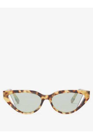 Fendi Way Cat-eye Tortoiseshell-acetate Sunglasses - Womens