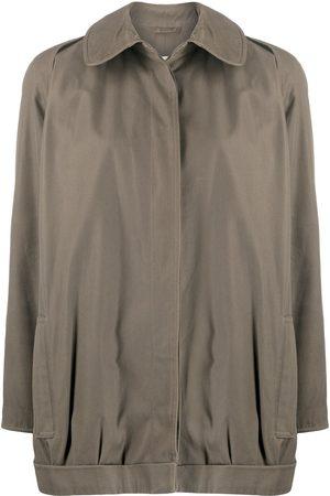 Giorgio Armani Women Straight - 1980s straight buttoned coat