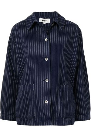 YMC Women Jackets - Contrasting-stitch jacket