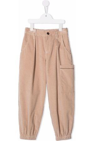 Brunello Cucinelli Corduroy wide-leg trousers