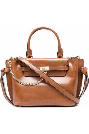 Michael Kors Glossy leather tote bag