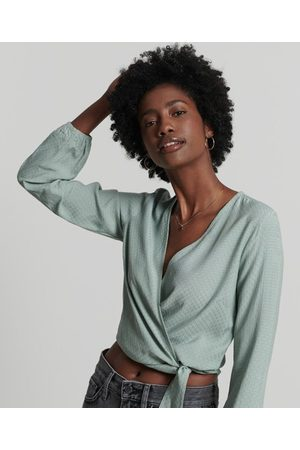 Superdry Textured Wrap Top