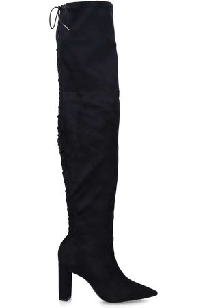 Carvela Women High Leg Boots - Second skin over the knee - suedette over the knee boot