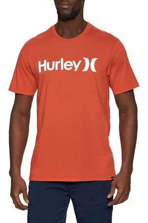 Hurley Everyday Washed One & Only Solid s Short Sleeve T-Shirt - Martian Sunrise