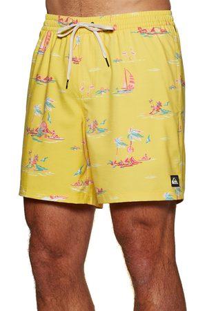 Quiksilver Island Breeze 17 s Swim Shorts - Lemon Zest