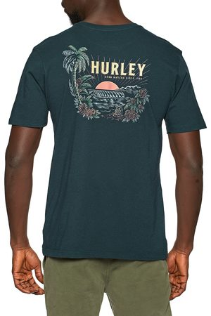 Hurley Everyday Washed Dark Waters s Short Sleeve T-Shirt - Armory Navy