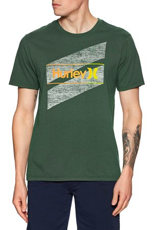 Hurley Everyday Washed One and Only Slashed s Short Sleeve T-Shirt - Galactic Jade