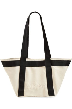 AMBUSH Embossed Logo Mini Tote Bag