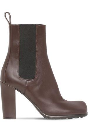 Bottega Veneta 90mm Storm Leather Chelsea Boots
