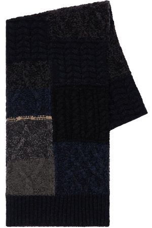 Dolce & Gabbana Patchwork Virgin Wool Blend Scarf
