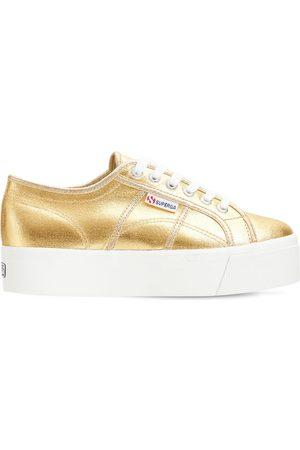 Superga 2790 Metallic Canvas Sneakers