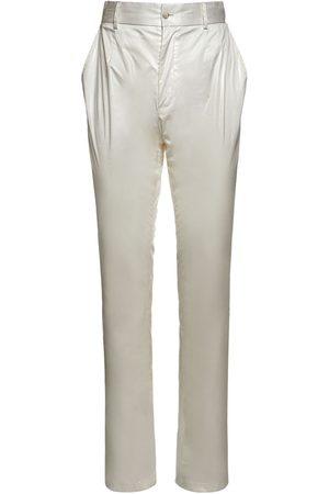 Dolce & Gabbana Waxed Pants