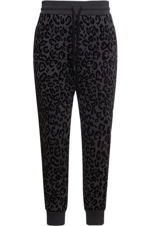 Dolce & Gabbana All Over Print Cotton Jersey Sweatpants