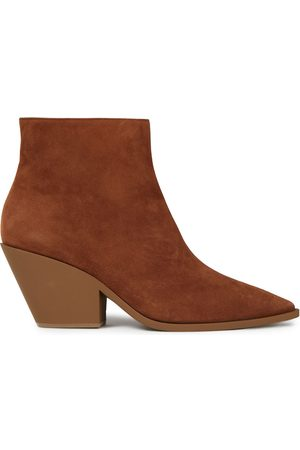 Casadei Women Ankle Boots - Woman Suede Ankle Boots Size 36