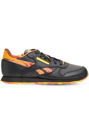 Reebok Ci Leather Lace-up Sneakers