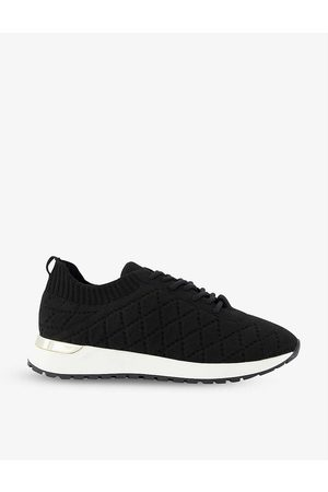Dune Women Trainers - Envision quilted knitted trainers