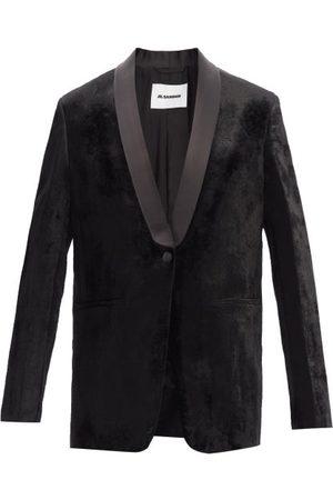 Jil Sander Velvet Tuxedo Jacket - Womens