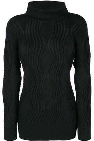 Issey Miyake 80's textured slim jumper