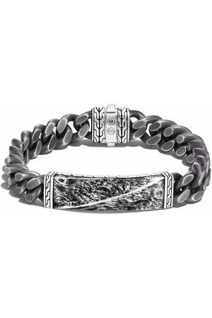 John Hardy Men Bracelets - Reticulated curb chain 11mm bracelet