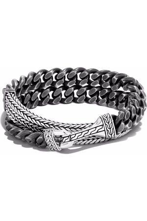 John Hardy Men Bracelets - Rata chain curb wrap bracelet
