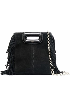 Maje Small fringed tote bag